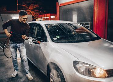 Choisir le nettoyage auto à haute pression