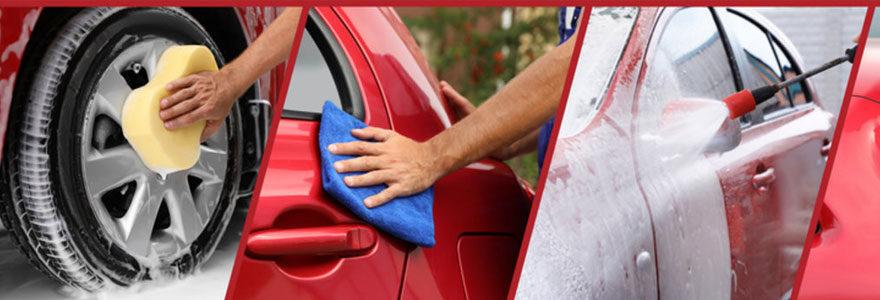 Accessoires de nettoyage d'automobile